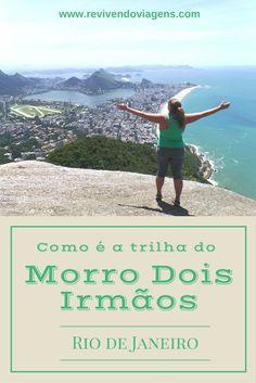 Como é a trilha para o Mirante do Morro Dois Irmãos no Rio de Janeiro.