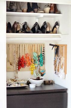 Beautiful and clever small closet ideas