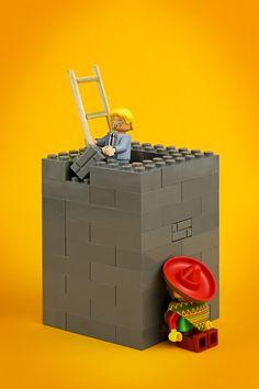 eat my bricks   lego photo art project