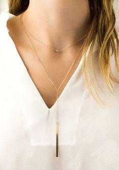 cool 14K Rose Gold Necklace, Simple Rose Gold Necklace, Dainty Rose Gold Necklace, Delicate Gold Necklace Minimalist Necklace Ball Necklace Gift