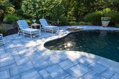 Wish you invested in making your patio as nice as this one? Don't wait, start planning by checking out Cambridge Pavers Pool and Patio Gallery! Installation: BC&G Landscaping