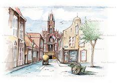 Het Oude Stadhuis aan de Rechtestraat werd gebouwd in 1869 en was ontworpen door Johannes van Dijck. In 1967 werd het gesloopt voor een weg die er nooit gekomen is. Deze sloop is voor vele Eindhovenaren nog steeds een niet genezen wond.