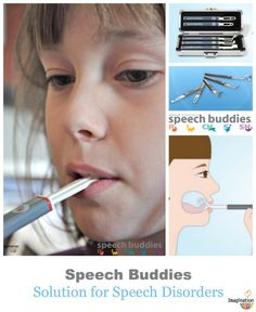 AMAZING at home innovation! Speech Buddies Tools show your child where to position his/her tongue.