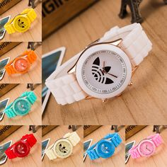 bd7484727cb 13 colors fashion silicone Jelly quartz watch women Luxury Brand sport  wristwatch Hot ladies dress watches