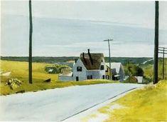 élevé route - (Edward Hopper)