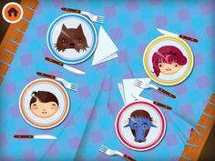 The Toca Kitchen characters by Toca Boca. http://itunes.apple.com/us/app/toca-kitchen/id476553281?mt=8