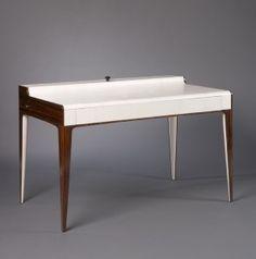 Orion - Cabinet, solid black ebony and white ebony precious veneer | Nicolas Aubagnac