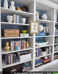 Home-Styling: Style Advice - Decorating Shelves * Dicas Em Estilo - Como Decorar Prateleiras