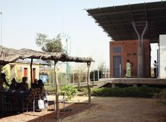 Some of of the greatest social and environmental challenges are focused around the issue of reproductive rights. Italian-based FAREstudios created a brilliant architectural solution to the issue by developing a refuge and Women's health clinic in a poor suburb of Ouagadougou, Burkina Faso in West Africa. The complex is a a new type of care center that provides health and social resources for women in impoverished communities using a site-appropriate sustainable architecture model.