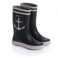 26730 Blue Anchor Rain Boots Aigle