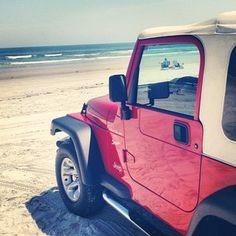 Crescent Beach #staugustine #beaches #jeep