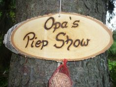 Opa´s Piep Show♥♥ von Holz- Kreativ auf DaWanda.com Diy And Crafts, Birthday Gifts, Home And Garden, Presents, Xmas, Woodworking, Cool Stuff, Creative, Fun