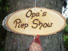 Opa´s Piep Show♥♥ von Holz- Kreativ auf DaWanda.com