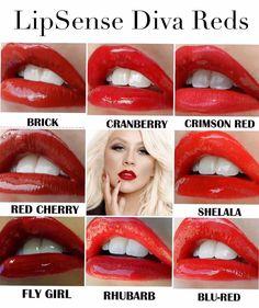 Red Lipsense #lipstick #lipsense https://www.senegence.com/Cassie