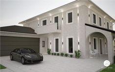 design casa exterior – Căutare Google Garage Doors, Exterior, Mansions, House Styles, Outdoor Decor, Design, Home Decor, Mansion Houses, Room Decor