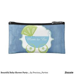 Beautiful Baby Shower Party Favor Cosmetic Bag