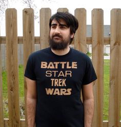 Hey, I found this really awesome Etsy listing at https://www.etsy.com/listing/182802177/battle-star-trek-wars-bleached-t-shirt