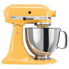 KitchenAid Artisan Tilt-Head Stand Mixer - 4.7L - 325-Watt - Buttercup : Stand Mixers - Best Buy Canada
