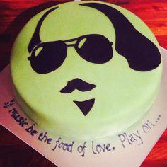 For Shakespeare's birthday. Shakespeare Birthday, Posh Party, Types Of Cakes, Novelty Cakes, No Bake Treats, William Shakespeare, Beautiful Cakes, Just Desserts, Eat Cake