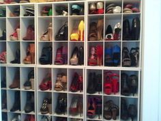 Customer Image Gallery for ClosetMaid 892917 15-Cube Laminate Shoe Organizer