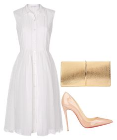 """Untitled #375"" by gabbyriera on Polyvore featuring Diane Von Furstenberg, Nina Ricci and Christian Louboutin"