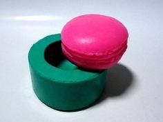 Molde de Silicone Macaron- Arte de Modelar