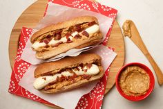 Peanut Butter and Bacon Banana Hot Dogs were developed by the Southern Peanut Growers Association. We're thankful to their creative minds for this recipe.