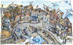 Wendy Brown Art - Lymington Quay