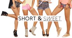 Check out our latest women's shorts.... in store now!