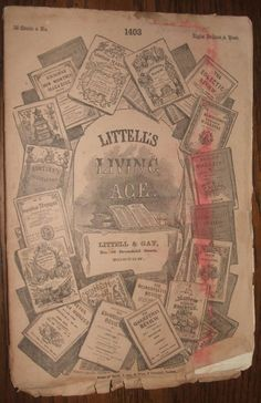 Littell's Living Age No. 1401 April 22, 1871 Tennyson, Poetry, Turkey, France