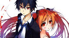 Anime Black Bullet Enju Aihara Rentaro Satomi Wallpaper