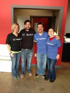 The Ki' Mexico crew. Ki' Mexico offers #Mexican soul food at CoHab's lunch counter series.