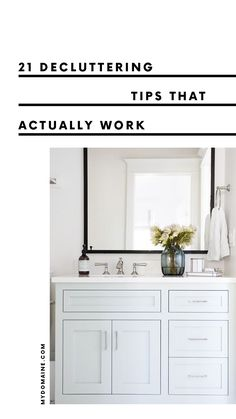 21 decluttering tips that actually work.