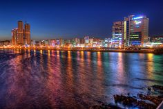 Ulsan, South Korea. Stayed there a few months...