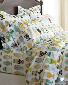 Eggcup Percale Bedding - such fun bedding