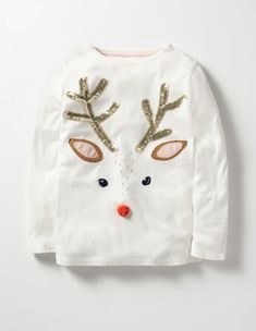 Boden Sequin Festive T-shirt Couples Christmas Sweaters, Ugly Christmas Jumpers, Diy Ugly Christmas Sweater, Knitted Christmas Stockings, Christmas Couple, Ugly Sweater, Festival Shirts, Simple Pakistani Dresses, Bookmarks Kids