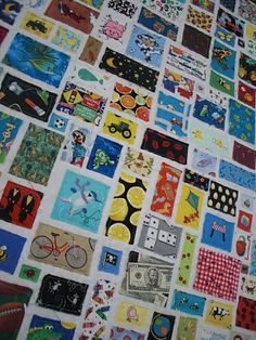 totally AWESOME i-spy quilt for a child/toddler!!!