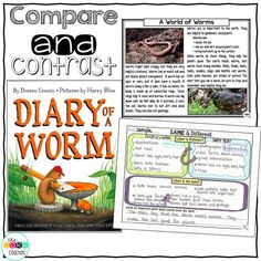 After reading Diary of a Worm and learning true facts about worms, we plan to discuss what could and couldn't actually happen to a worm.