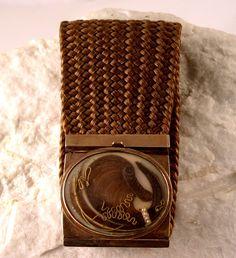 Victorian Hair Bracelet. $450.00, via Etsy.