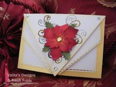 Valita's Designs--Poinsettia Flower