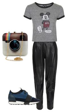 """Untitled #136"" by narrebybn on Polyvore featuring MuuBaa, Balenciaga, Topshop, women's clothing, women's fashion, women, female, woman, misses and juniors"