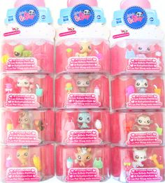 NEW Littlest Pet Shop Cutest LPS Baby Toy Pets in Adorable Bottle Shaped Packages Babies include, Pearlized Elephant, Spotted Seal, Pony, Monkey, Duck, Dog, Kitten, Squirrel, Bear, Turtle, Penguin etc In Stock Now at http://www.bonanza.com/booths/TweetToyShop