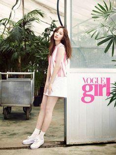 Krystal is a lovely Vogue Girl - Latest K-pop News - K-pop News | Daily K Pop News