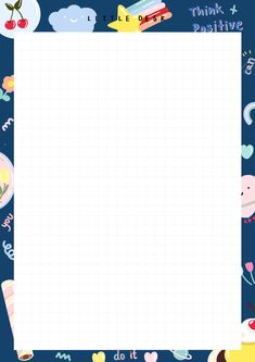 Cute Notes, Good Notes, Paper Background Design, Cute Patterns Wallpaper, Memo Notepad, Note Doodles, Notes Template, Note Paper, Writing Paper