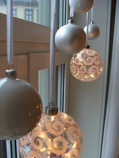 christmas-decorated window