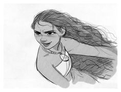 """Moana"" by Jin Kim* • Character Design © 