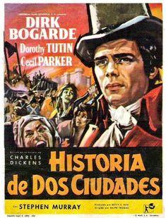 """Historia de dos ciudades (1958) """"A Tale of Two Cities"""" de Ralph Thomas - tt0052270"""