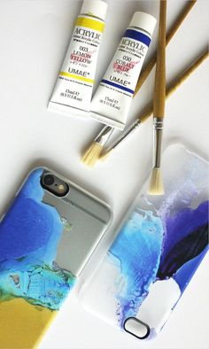 Hand painted phone case