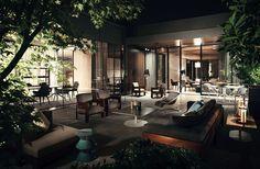 Minotti Outdoor Collection #lifescape #outdoor #alison #warhol #cortina  #bellagio #. Haus Interieu DesignAußenmöbelIndoor ...
