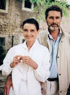 Robert Wolders & Audrey Hepburn were together in the final years of her life.